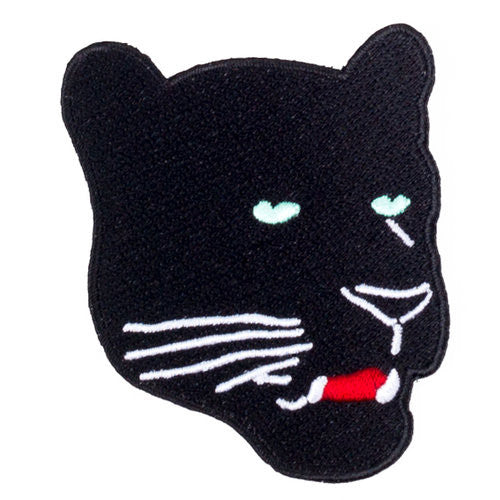 Panther Iron on Patch