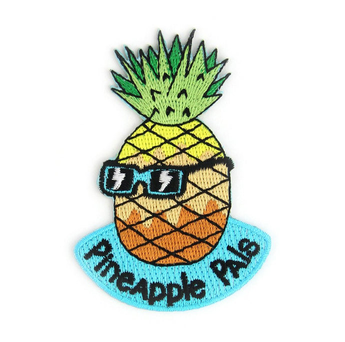Pineapple Pals Embroidered Patch