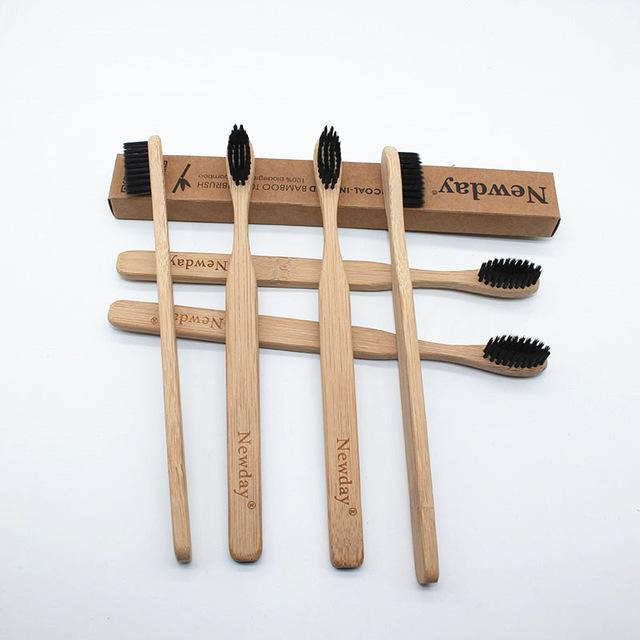 Natural Eco Bamboo Toothbrush