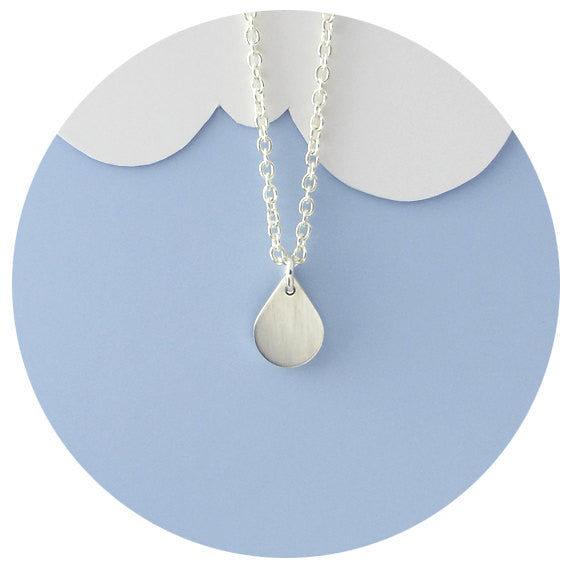 Sterling Rain Necklace