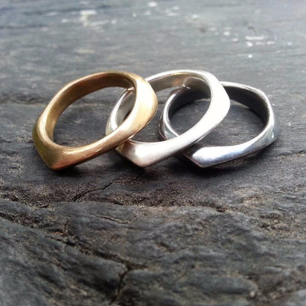 Irregular Ring - bronze