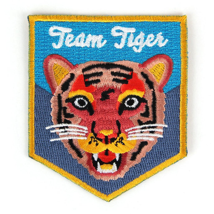 Team Tiger Embroidered Patch