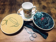 Alice's Tea Party & Embroidery Intro