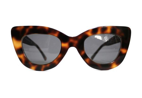 Tortoise Triangle Sunglasses