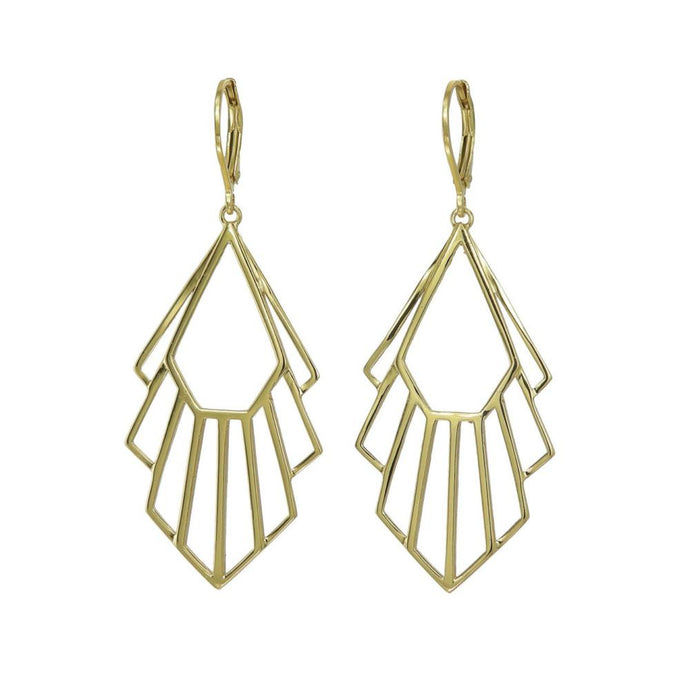 Gold Flossie Earrings