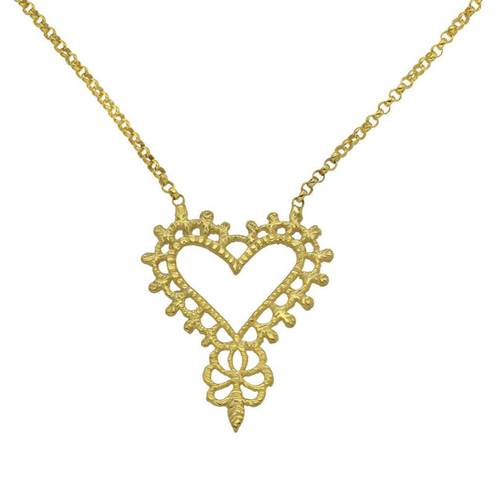 Gold Gypsy Love Necklace