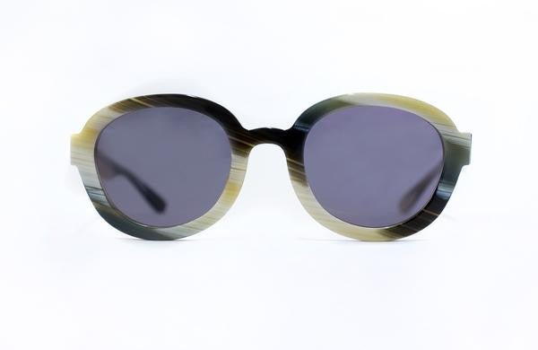Horned Square Sunglasses
