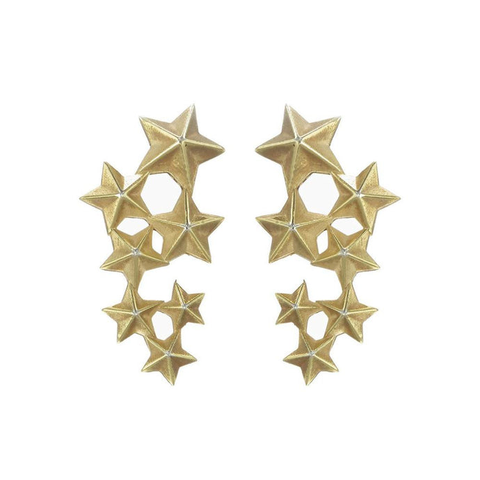 Gold Seven Sisters Earrings