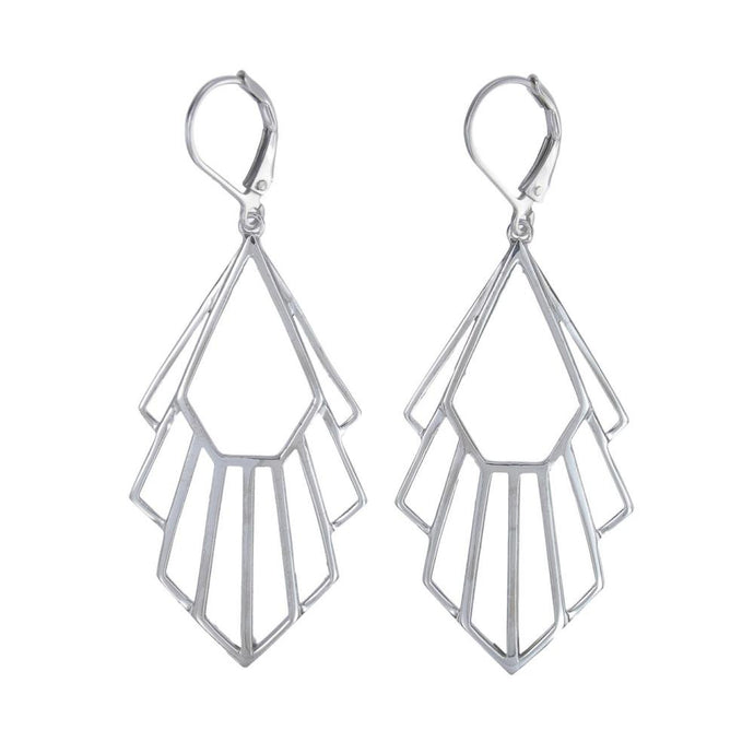 Silver Flossie Earrings