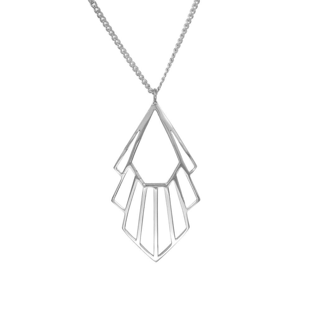 Silver Flossie Necklace
