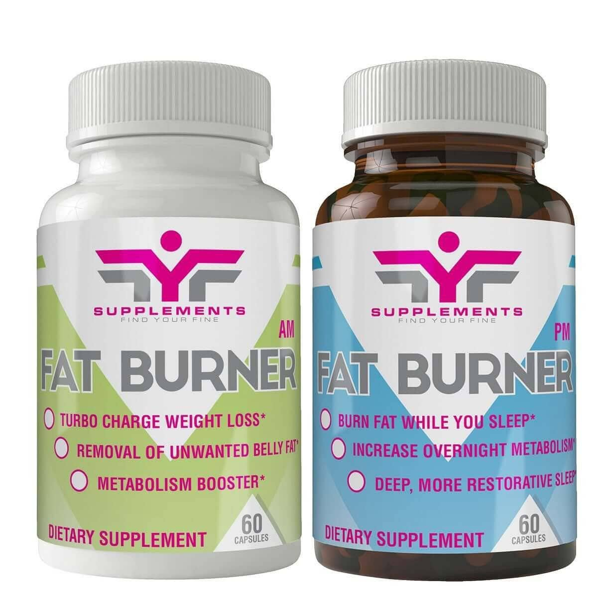 24 hour fat burner pack (30 Day AM & PM Supply)