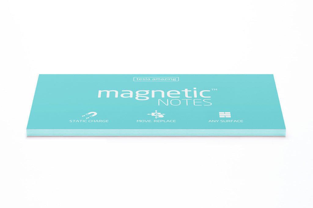 Magnetic Notes / Size-L / Aqua