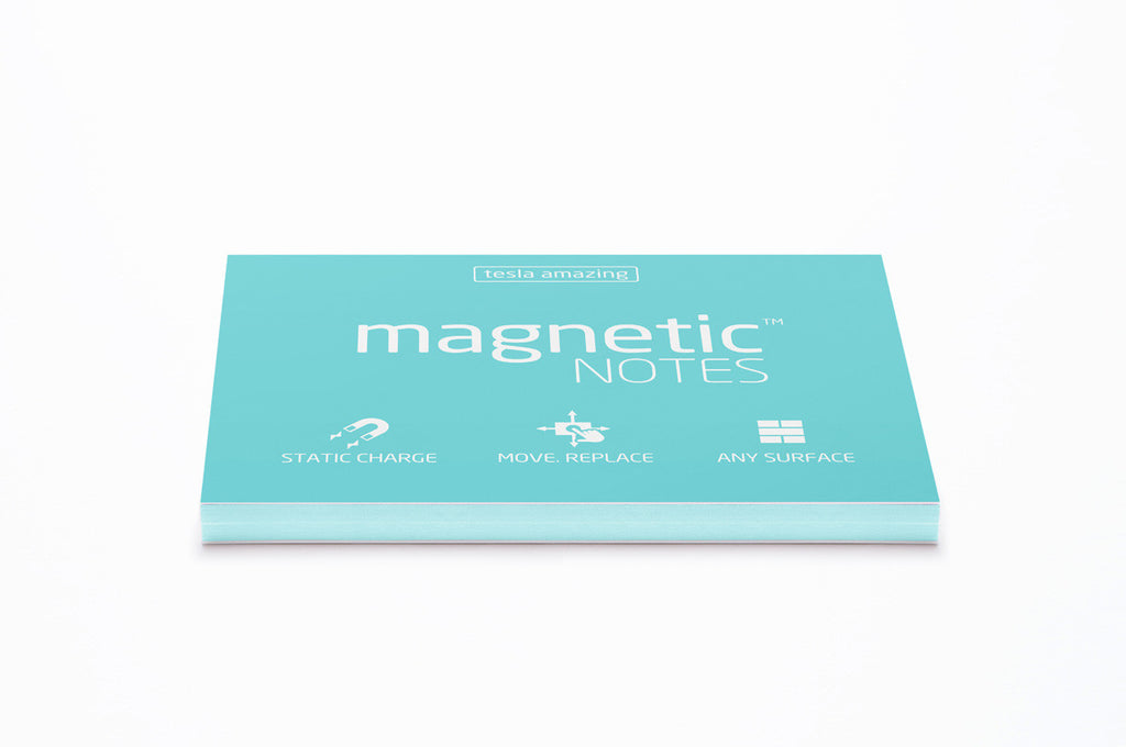Magnetic Notes / Size-M / Aqua