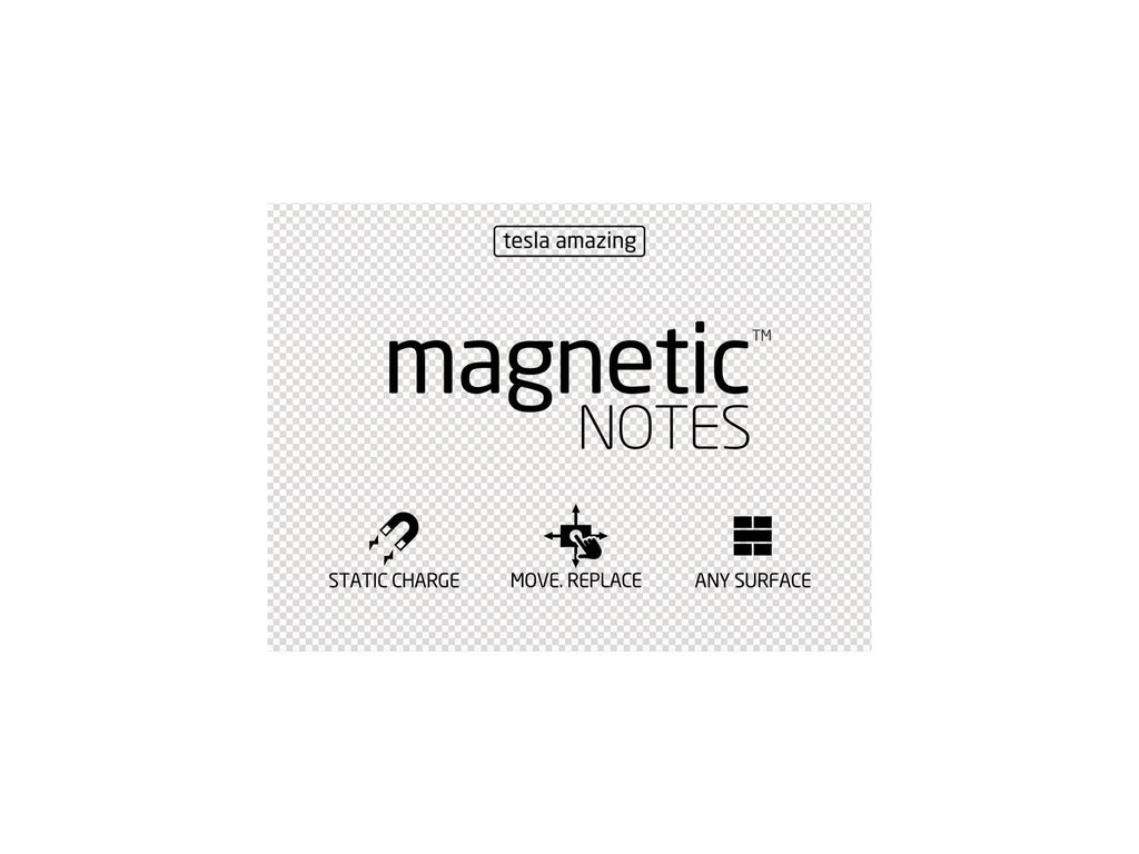 Magnetic Notes / Size-M / Transparent