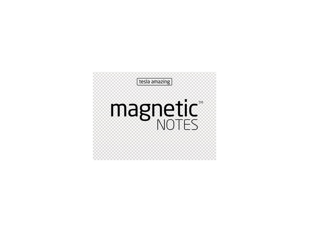 Magnetic Notes / Size-S / Transparent