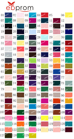 Fabric swatch composite-silky-chiffon