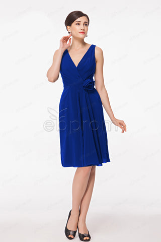 Royal blue cocktail dresses
