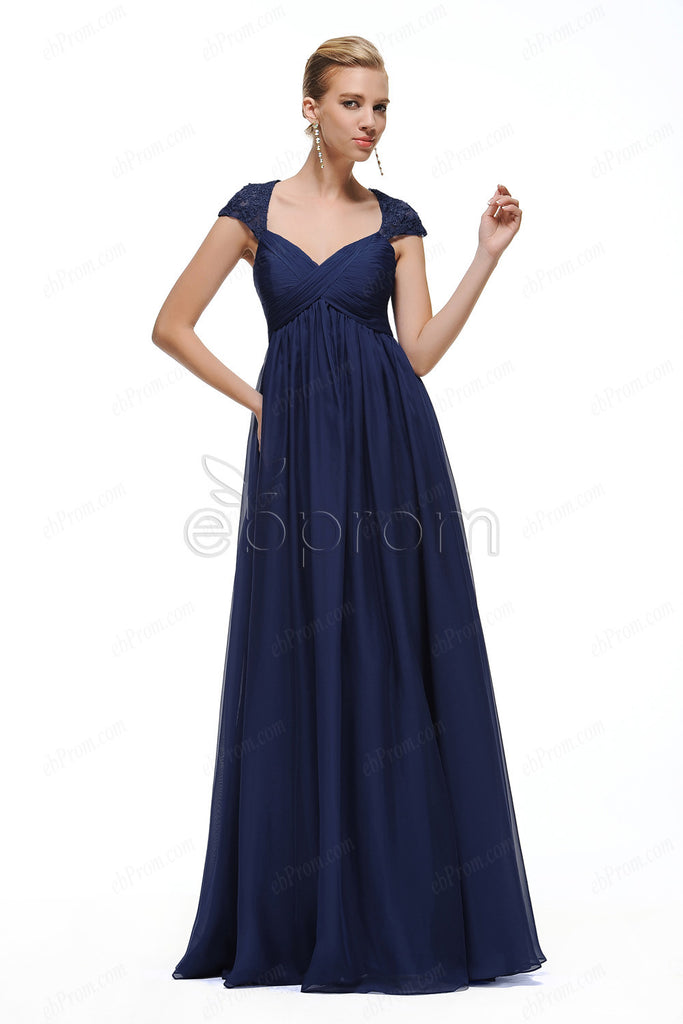 Purple maternity bridesmaid dresses cap sleeves – ebProm
