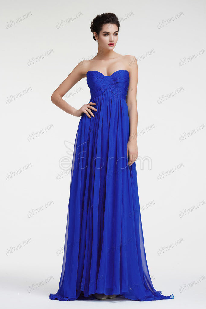 royal blue prom dress evening dresses