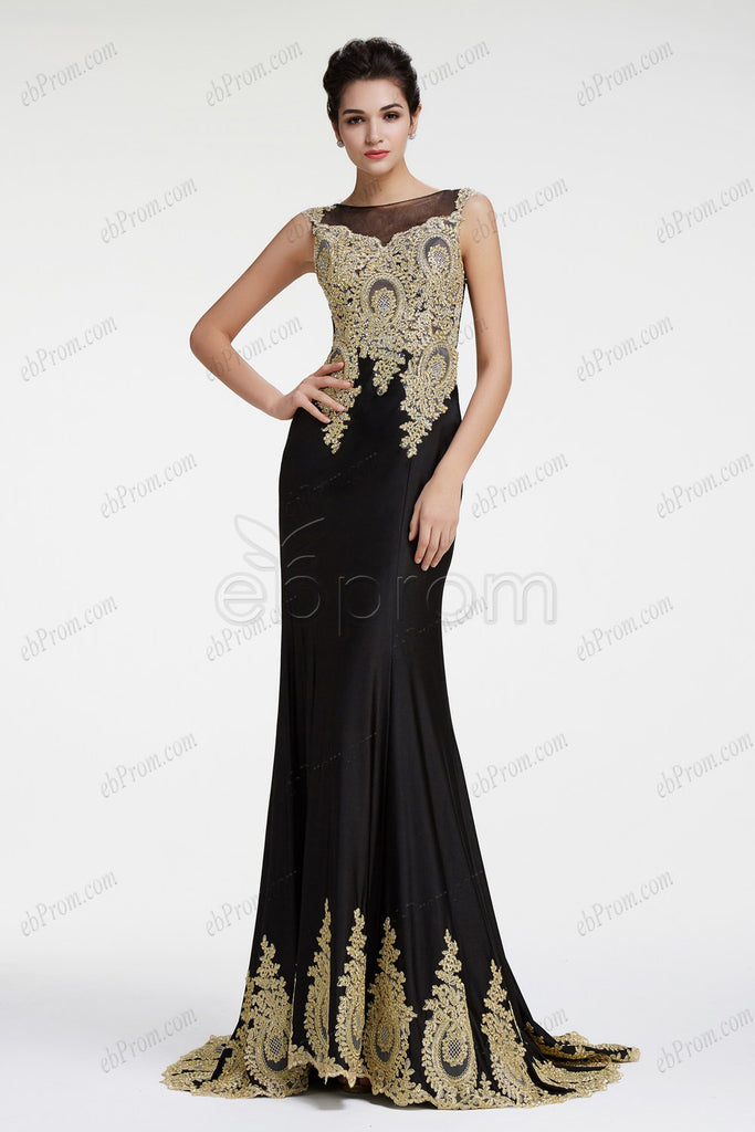 Black mermaid sparkly prom dresses pageant dresses