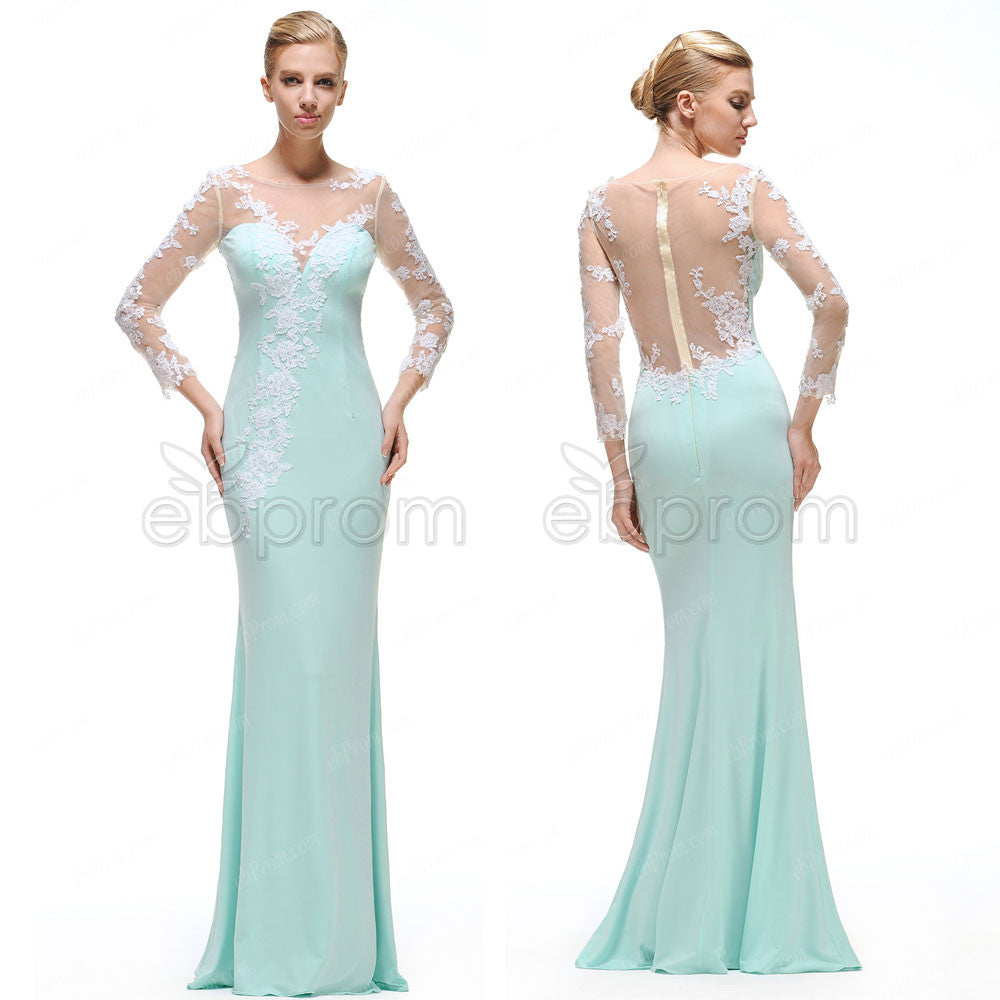 Mermaid Mint prom dress pictures best photo