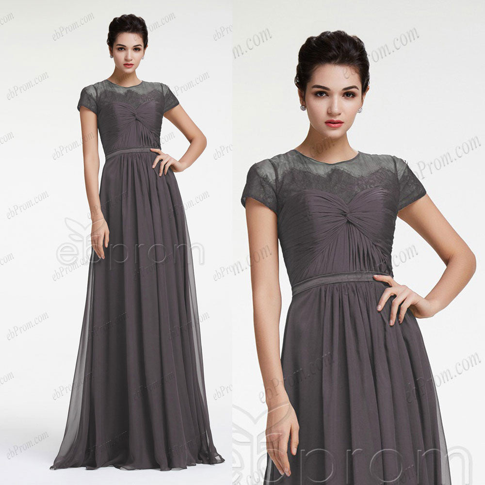 Charcoal grey bridesmaid dresses with sleeves ebprom charcoal grey bridesmaid dresses with sleeves charcoal grey bridesmaid dresses with sleeves ombrellifo Gallery