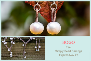 BOGO in our Leather and Pearls Collection