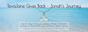 Giving Back | Whale's Tail Pendant | Jonah's Journey | TevaJane