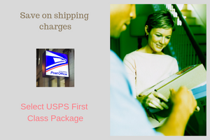 Now offering lower cost in shipping options!