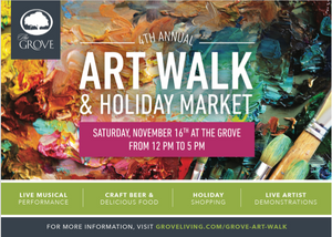 The Grove Living Art Walk and Holiday Market
