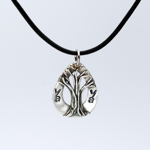 Tree of life pendant personalized