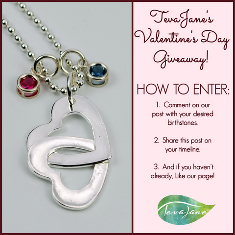 Facebook TevaJane Valentine's Day Giveaway Post