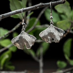 ALL ABOUT GINGKOS EARRINGS - TevaJane
