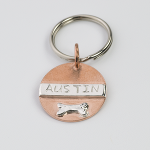 AUSTIN (Small) PET ID TAG - TevaJane