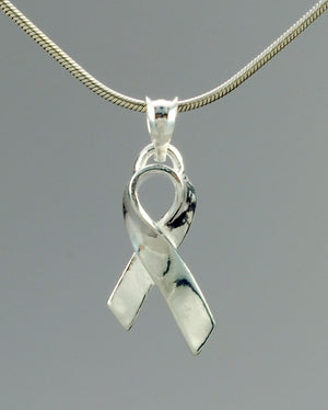 AWARENESS RIBBON PENDANT - TevaJane