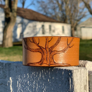 TREE OF LIFE LEATHER BRACELET - TevaJane