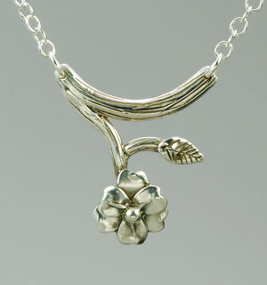 BLOOMED FLOWER NECKLACE - TevaJane
