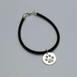 DOG PAW CHARM, Carved - TevaJane