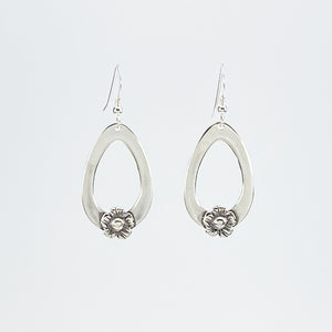 FLOWER DANGLE EARRINGS - NEW DESIGN!