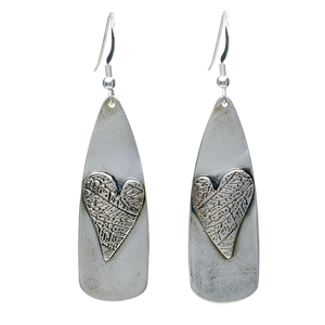 HEART'S PRINT EARRINGS - TevaJane