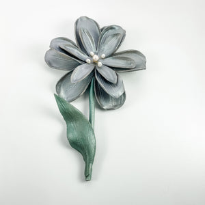 Leather Flower Wall Hanging - TevaJane