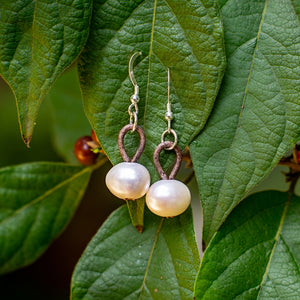 SIMPLY PEARL EARRINGS - TevaJane