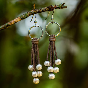 FRINGED EARRINGS - TevaJane