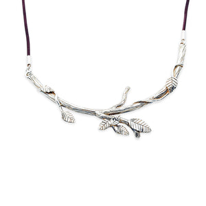 Sterling Silver Tree Branches with leaves by TevaJane