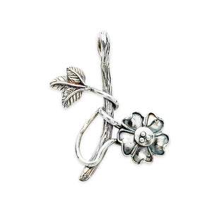 Branch Twig with flower pendant