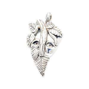 Sterling Silver Dryad Pendant