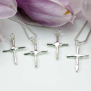 PERFECT LOVE CROSS PENDANT - TevaJane