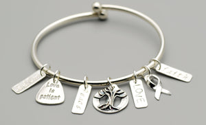 FAITH, HOPE, LOVE & PEACE ATTRIBUTE CHARMS - TevaJane