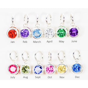 BIRTHSTONE DROP CHARMS - TevaJane