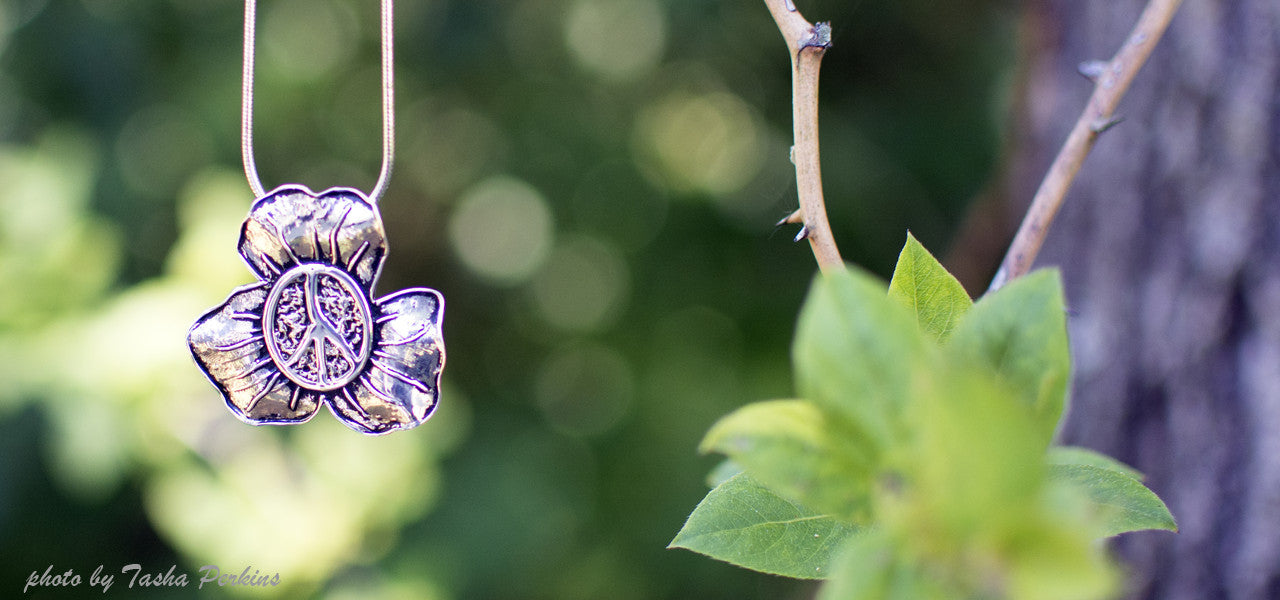 Sterling Silver | Blooming Peace Pendant
